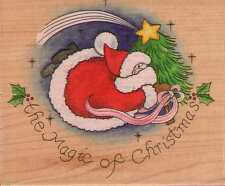 Motivo timbro RUBBER STAMP STAMPS Happen Magic of Christmas Natale