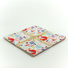 """Summer Celebration 10"""" Squares Stacker by Dani Mogsta for Riley Blake, 18 pieces"""