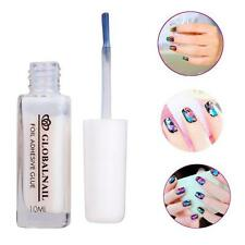 1PC White Glue Adhesive for Star Foil Sticker Nail Art Transfer Tips