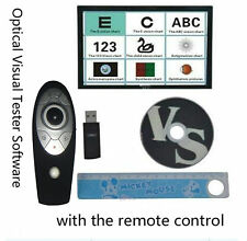 Chart Projector Eyesight Vision Visual Tester Software @ Remote Control CP-27B