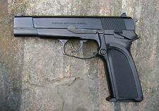 Lámina-Browning Bda Revolver Pistola (Foto Afiche De La Policía Militar Arte)
