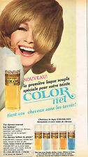 PUBLICITE ADVERTISING 065  1966  COLOR-NET   laque
