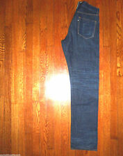 3X1 M2 26/26 STRAIGHT FIT MADE IN USA of JAPANESE KURABO SELVEDGE JEANS 30x35