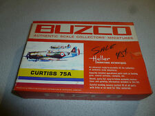 NEW IN BOX BUZCO HELLER CURTISS 75A MODEL WWII FIGHTER PLANE 1:72 SCALE 904:89
