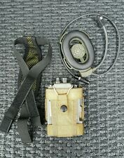 Marconi,Selenia,Selex Prc 343,bowman H4855  Prr radio with two pouches airsoft