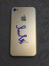 Iphone 4 gold edition with authentic sign of Alex Ovechkin