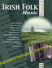 Irish folk-musica, voti per fisarmonica, sheet music book for Accordion, VHR 1781