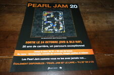 PEARL JAM - Publicité de magazine / Advert !!! 20 - DOCUMENTAIRE !!!
