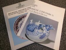 Book Annamese Ceramics Robert P Collection 1984 With Poster Christie's Catalogue
