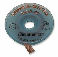 CHEMTRONICS - 80-4-5 - 2.8MM SODER-WICK DESOLDERING BRAID