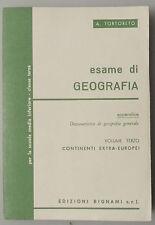 (PRL) ESAME DI GEOGRAFIA BIGNAMI TERZA CLASSE SCUOLA MEDIA INFERIORE VOL 3