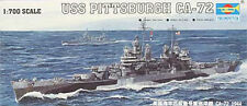 NEW Trumpeter 1/700  44 USS Pittsburgh CA-72 Cruiser 05726