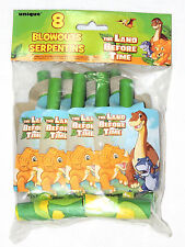 ~THE LAND BEFORE TIME~8- BLOWOUTS  -    PARTY  SUPPLIES