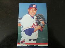 2002 Ricardo Rincon Cleveland Indians Post Cards / Postcards
