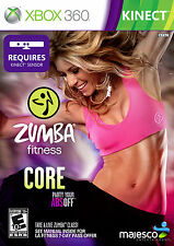 Zumba Fitness Core KINECT (BRAND NEW XBOX 360) NEW
