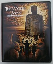 The Wicker Man Trading Card Binder + 54  Card Base Set + 9 Chase + Binder Pages