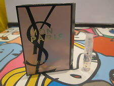 NEW LAUNCH!MON PARIS BY YSL EDP SAMPLE 1,2 ML,SHIP WORLDWIDE!