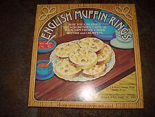 English Muffin/Crumpet/Egg Ring Set & Recipe