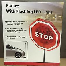 NEW, Parkez with Flashing Red LED Light Garage, Parking Stop Sign Sensor