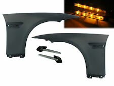 E92/E93 2006-12 Pre-Facelift Side Fender Guarder Amber LED Indicators Marker BMW
