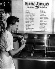 1948 Howard Johnson's Photo 8X10 - Ice Cream - Buy Any 2 Get 1 FREE