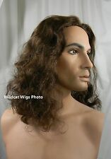 Jesus Wig .. NICE!  Also great for Gaston or the Beast .. Beauty and the Beast