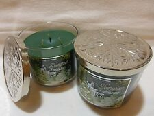 2 Evergreen Bath & Body Works Holiday Traditions Candle Net Wt 14.5 Oz ea NEW!