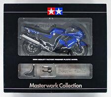 Tamiya 21083 Kawasaki ZZR1400 Blue 1/12 Finished Model Masterwork Collection