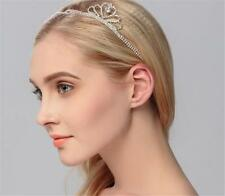 Diamante Crown Hair Halo Crystal Bridal Accessories Wedding Hair Vine 1 Piece