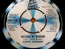 "STEVIE WONDER - OUTSIDE MY WINDOW      7"" VINYL"