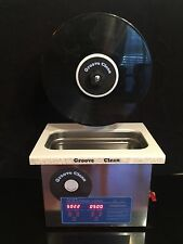 Ultrasonic Record Cleaner - Groove Clean - Vinyl Clean Record Cleaning Machine