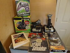 Saitek X52 Flight Control System Microsoft Flight Simulator Side Winder Lot