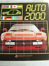RARE PANINI AUTO CAR 2000 MASERATI ASTON MARTIN JAGUAR STICKER ALBUM BOOK UNUSED