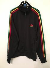 Adidas Originals ADI-Firebird Track Top Jacket RASTA JAMAICA Size L 680893