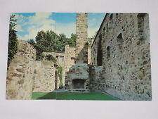 VINTAGE Fort Chambly National Historic Park Remains Postcard Quebec Chapel