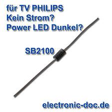 """SB2100 Diode für Netzteil Modul DPS-298CP-9A für LCD-TV PHILIPS 42"""", D907"""