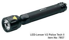 Ledlenser v2 Police Tech 2 7857 linterna robusto y Hell