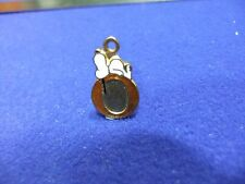 vtg snoopy pendant charm letter initial O brown 1970s peanuts schulz cartoon #