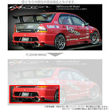 GENUINE VARIS REAR BUMPER FRP TIME ATTACK FOR MITSUBISHI EVO 7-9 CT9A 4G63