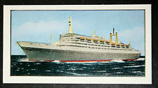 SS ROTTERDAM   Holland America Line         Illustrated Colour Card