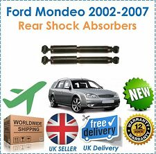 Fits Ford Mondeo Estate MK3 2002 2007 Rear Shock Absorbers x2 NEW OE Quality!!