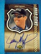 2000 Jeremy Mayfield Upper Deck Racing Road Signs