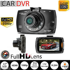 "2.7"" Full HD 1080P LCD Car DVR Dash Camera Crash Cam G-sensor Night Vision HDMI"