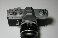 CANON PELLIX 35MM CAMERA WITH 50MM F1.4 FL LENS FOR COLLECTION 1965-66 VINTAGE