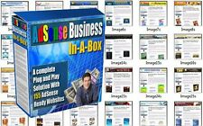 155 Profitable Adsense Affiliate Websites for sale with Master Resell Rights