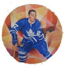 Frank Mahovlich Toronto Maple Leafs Hockey Stamp Lithos Lithograph Canada Post