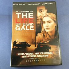 The Life of David Gale (DVD/2003) Kevin Spacey/Laura Linney/Kate Winslet/Mann