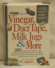 Yankee Magazine's Vinegar, Duct Tape, Milk Jugs & More 1,001 Uses by Earl Proulx