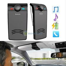 Wireless Bluetooth Hands-free Car Speaker Kit Music Player Fr iphone Samsung HTC