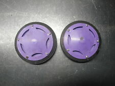 1997 97 ARCTIC CAT EXT 580 SNOWMOBILE POWDER SPECIAL BODY PURPLE BOGIE WHEELS